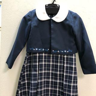 卒園式に、女の子スーツ 120