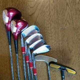レディスゴルフクラブハーフセットプラスパター1本