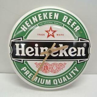 非売品 Heineken ハイネケン 陶器製 掛時計