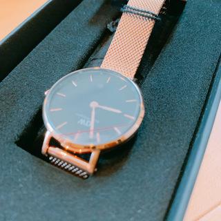 新品箱付き!ダニエルウェリントン 腕時計 DW00100217 - 服/ファッション