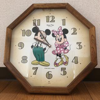 中古品 ディズニー壁掛け時計