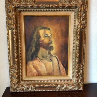 キリスト肖像画(油彩) 4号サイズ