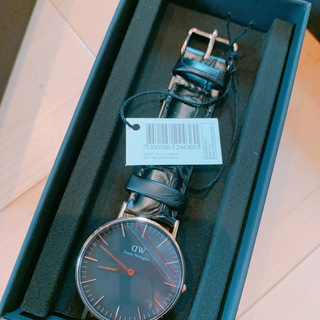 新品箱付き!ダニエルウェリントン 腕時計 DW00100141 - 港区