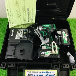 【HiKOKI】日立工機『コードレスインパクトドライバ』WH18...