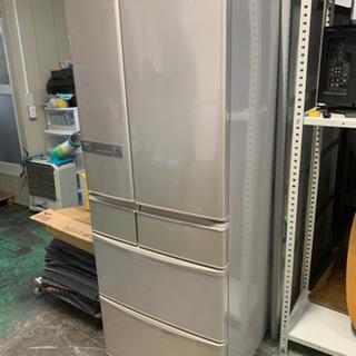 2012年製SHARP6ドア冷蔵庫515L e-COOLシステム