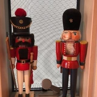 難ありアンティークのくるみ割り人形 ヨーロッパ