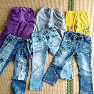 子供服 男の子 100センチ ズボン 6本セット