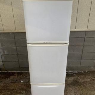 FUJITSU 3ドア冷凍冷蔵庫335L