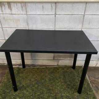 ハイテーブル ブラック