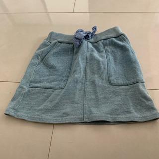 プティマイン スウェット生地 スカート