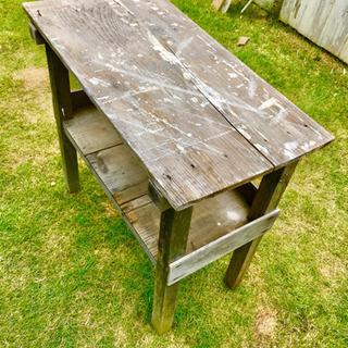 作業台 シャビー クラフト 木製品 レトロ