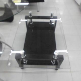 ガラステーブル テーブル ローテーブル 幅:約90cm 苫小牧西店