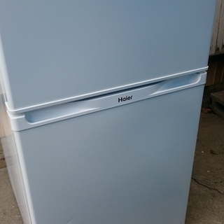 Haier (ハイアール) 2枚ドア 冷凍 冷蔵庫 JR-N91...