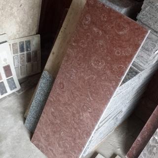 生地ののし台 こね台 88cm×30cm (赤っぽい大理石)