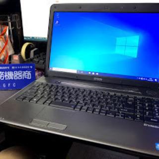 Core i3搭載!Office2019認証済!ノートパソコン