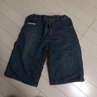 140サイズ デニ厶半ズボン