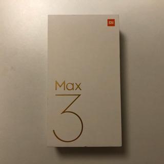 新品 Xiaomi Mi Max 3 4GB 64GB ブラック...
