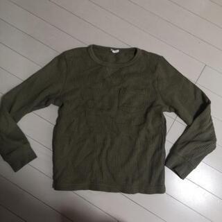 ワッフル素材の長袖 150