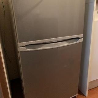 大宇 2ドア 冷凍 冷蔵庫 86L 2014年製 DR-T90AS