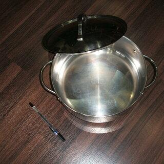 IH対応蓋つき鍋