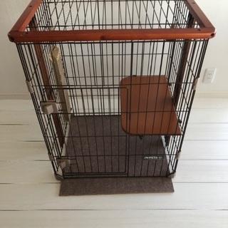 猫用ケージ 使用期間4ヶ月