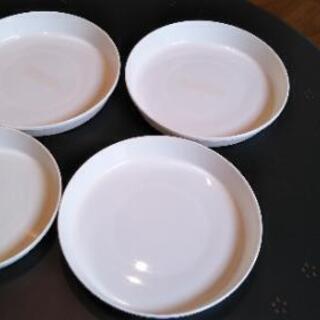 ◆鉢受皿🌱7号×3枚🌱6号×1枚◆中古品