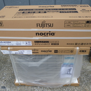 Fujitsu ノクリア インバータールームエアコン ホワイト(...