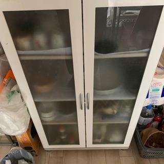 冷蔵庫&食器棚差しあげます