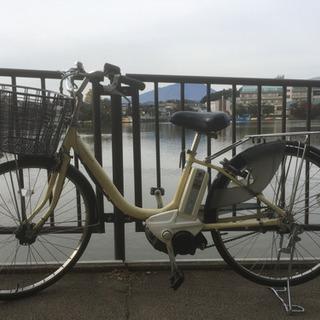 ヤマハ電動自転車中古 イエロー