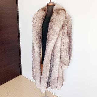 定価1200万円☆☆ブルーフロストフォックス毛皮コート♡♡