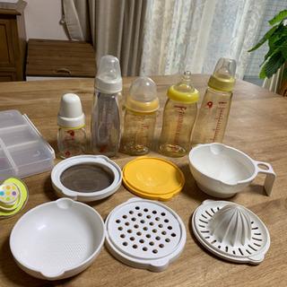 哺乳瓶 離乳食 調理 器具☆おしゃぶり☆フリーザーバッグ 小分けケース 一式 - 子供用品