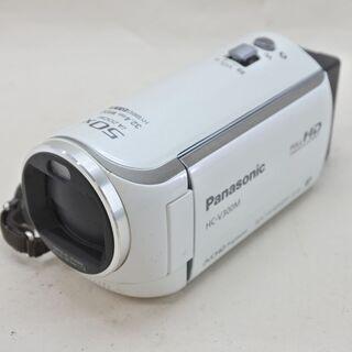 パナソニック★デジタルビデオカメラ HC-V300M 白 本体の...