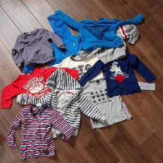 男の子90~100size 冬服譲ります。