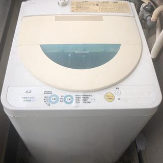 洗濯機取りに来てくれる方
