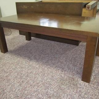木製机を売ります