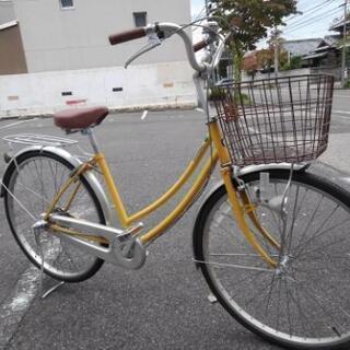 中古自転車680 26インチ 3段ギヤ ダイナモライト