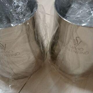 SILVIO VALENTINO (新品)ビール水割カップ2客