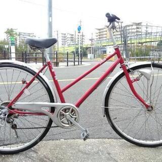 ♪ジモティー特価♪27型シティサイクル 中古自転車 自動点灯オー...