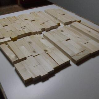 端材 木材 詰め合わせ 工作 棒状 (箱大)
