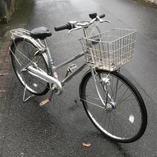【フロント修理歴あり】ブリジストン自転車・26インチ・通学タイプ・中古