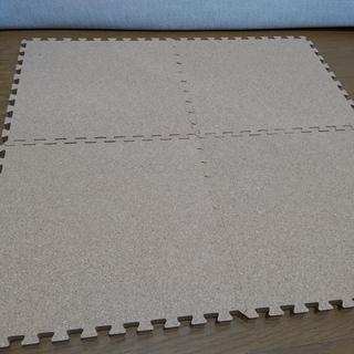 厚手コルクマット(1.5cm)6畳分差し上げます。(再投稿)