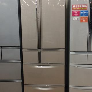 安心の6ヶ月返金保証!MITSUBISHIの6ドア冷蔵庫で…