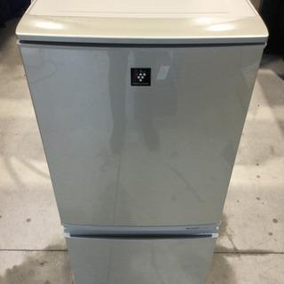 SHARP 137L 2ドア ノンフロン冷凍冷蔵庫 SJ-PD1...