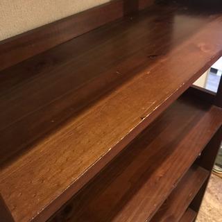 お譲りします!木製本棚。