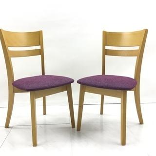 椅子2脚セット アルト ビーチ/布 参約1.3万/1脚 YO-0215