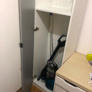 IKEA おしゃれ 掃除用具入れ 【送料ご負担頂ければ郵送も可能】