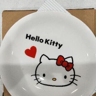 【新品未使用品】ハローキティお皿2枚