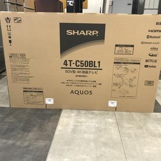 SHARP 50V型 4K液晶テレビ 未開封品