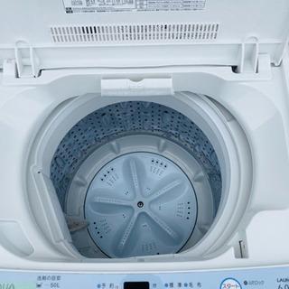 394番 AQUA✨全自動電気洗濯機⚡️AQW-S60A‼️ - 新宿区