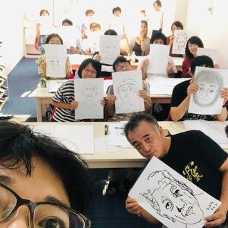 11月24日誰でも,3時間で,自動的に絵が描けるワークショップ【快画塾】米子クラス 初心者歓迎! - 絵画